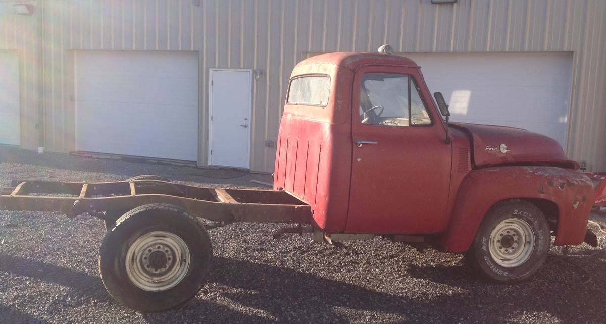 1955 Ford F250 Stake Bed Truck K2 Motorsports Llc